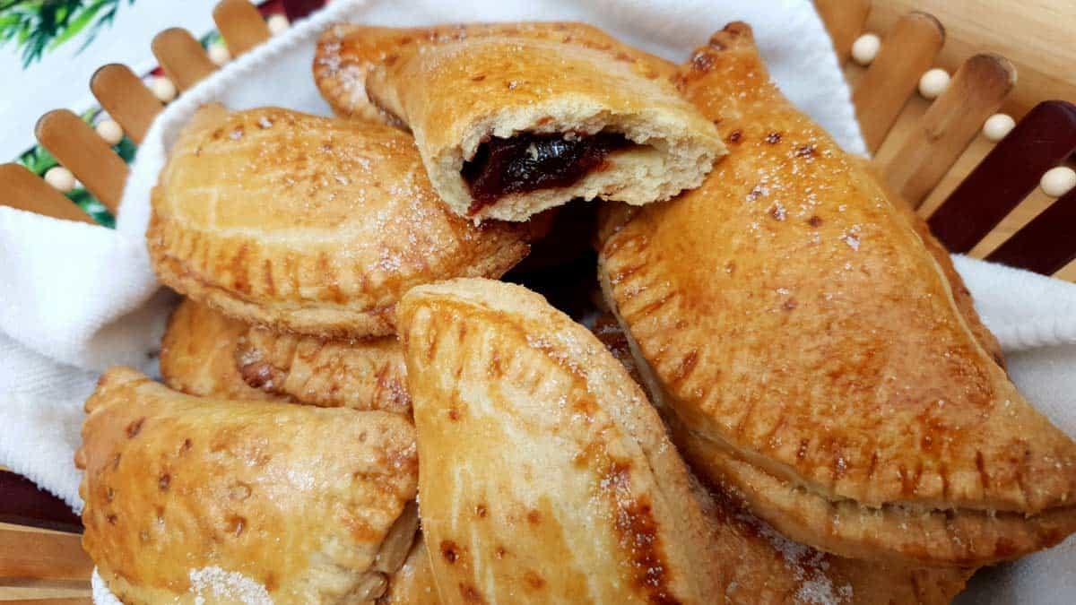 receta empanadas de guayaba