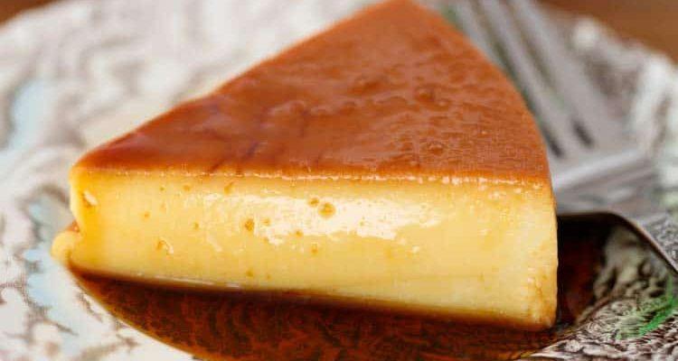 receta de Flan Cubano casero