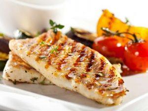filete de pescado a la plancha